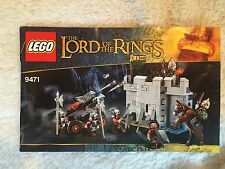 Lego The Lord of the Rings Uruk-Hai Army #9471 Instruction Manual Booklets