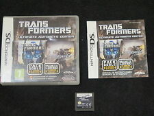DS : TRANSFORMERS : ULTIMATE AUTOBOTS EDITION - Completo, ITA ! Comp 2DS e 3DS