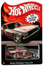 2015 Hot Wheels #3 Collector Edition Dodge Challenger Funny Car KMART mail-away
