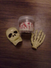 Halloween Accessories: Brain, Skeleton Hand/Face - Barbie, Monster High, Tyler