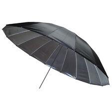 Mega Silver Umbrella 180cm - XL Parabolic Brolly Photography Studio Flash Bounce