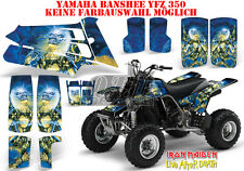 AMR RACING DEKOR GRAPHIC KIT ATV YAMAHA BANSHEE YFZ 350 IRON MAIDEN - L.A.D. B