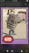 Topps Star Wars Digital Card Trader Preview GNK Power Droid Base 4 Variant