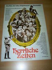 HERRLICHE ZEITEN - Kinoplakat A1 WA 70er - ERIK ODE Willy Fritsch