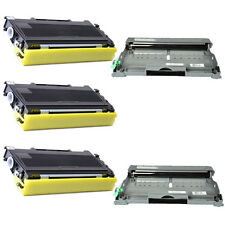 2x DR350 Drum + 3x TN350 Toner for Brother DCP-7010/7020/7025 MFC-7220/7420/7820