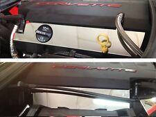 Corvette C7 2014-2016 VALVE LOWER FUEL RAIL COVERS (Base) stainless chrome