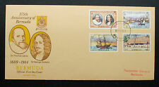 Bermuda 1984 375th Anniversary of Bermuda First Day Cover