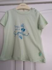 Baby Girls Pampolina Mint Green      T Shirt Size 86 UK 18 Months