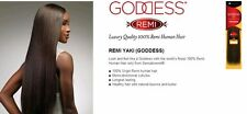 brand new sensationnel goddess remi yaki 100% human hair 10 color 4 free ship