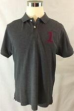 New Without Tag - Hackett London Tailored Number Polo Shirt Grey Size XL
