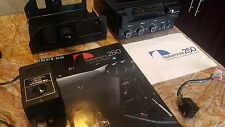 Nakamichi 250 Cassette Player, Mount, DC connecter, AC adapter, Manual, Brochure