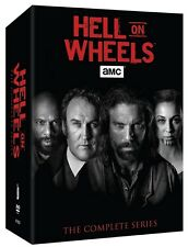 Hell on Wheels Season One-Five 1-5 Complete Series Boxset DVD (17-Disc 2016) New