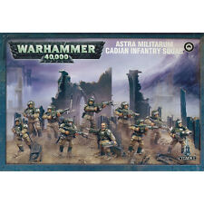 WARHAMMER 40K - Astra Militarum Cadian Infantry Squad - NEW/BOX