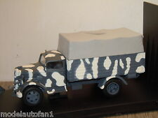 Opel Blitz Troop Carrier Whermacht Russia 1943 van Victoria 1:43 in Box *16360