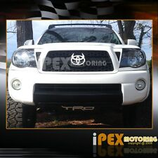 [CLEAR REFLECTOR] 2005-2011 Toyota Tacoma Black Euro Headlights Headlamps
