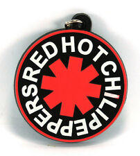 RockHyena RED HOT CHILI PEPPERS Rubber Keychain Keyring Key chain (Snow) AA49