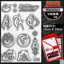 Vocaloid Miku Metal Sticker Badge Phone Sticker One Set