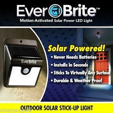 Ever Brite Outdoor Motion Activated Solar Power LED Light Stick Emergency