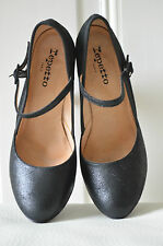 REPETTO Pumps Mary Janes schwarz FR 38 EUR 37