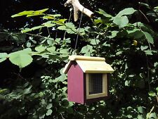Bird Feeder Hanging nut/ Table wooden