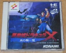 NEC PC Engine CD-ROM Castlevania Akumajo Dracula X Chi no Rondo From Japan