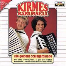 Musik CD Album Kirmes Karussell - Die Goldene Schlagerparade