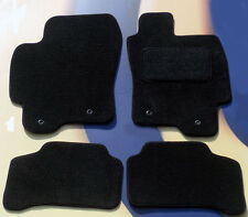 JAGUAR S TYPE 2002 ON TUFTED BLACK CAR FLOOR MATS WITH 4 X CLIPS