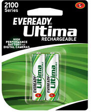 EVEREADY ULTIMA 2 pcs of 2100 series NiMH AA Rechargeable batteries