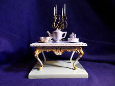 """WDCC Cinderella Series Lady Tremaines Table """"Tea is Served"""""""