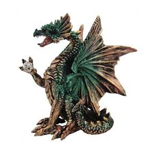 Icefyre / Icefire Dragon figurine, mythical fantasy statue, Nemesis Now AL50383