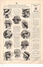 1909 Ladies Home Journal - The New Lingerie Hats