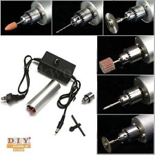 DIY Crafts®DC 3V-24V Electric Hand Drill Rotary Tool 385Motor w/24VPower Supplyh