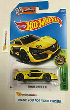 Renault Sport RS 01 #79 * YELLOW * Hot Wheels 2016 Case G