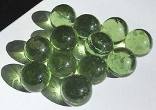 """12 HELENITE Orbs Balls Cabs 3/4"""" Mt St Helens Ash Glass Facet Rough 600+ cwt lot"""