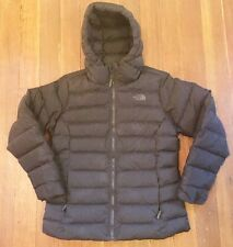 THE NORTH FACE Hooded Puffer Jacket 550 Fill (Women) Size Large, Black
