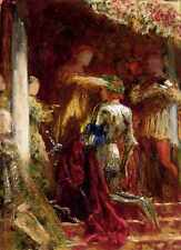 Dicksee Sir Francis Bernard Victory A Knight Being Crowned With A Laurel Wreath