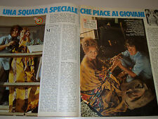 MICHAEL COLE PAULA KELLY clipping articolo foto photo 1977 PETE COCHRAN