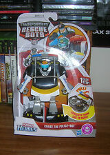 Transformers Rescue Bots Chase The Police Bot FREE SHIPPING!!!!!!!
