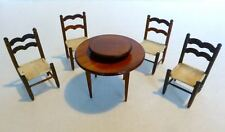 Set 0f Dollhouse Furniture Dining Room Colombia Sonia Messer