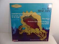 MOZART Concertos pour piano et orchestre HASKIL dir SACHER 836935