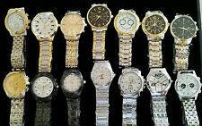 x50 QUARTS ORLANDO MENS BEZEL STRAP WATCHES BRAND NEW Great To Re-sell!!