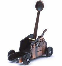 NEW BRASS COLOUR MEDIEVAL CATAPULT DESKTOP ORNAMENTAL PENCIL SHARPENER. WESTAIR