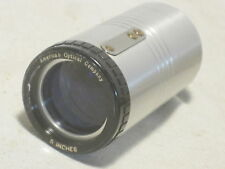 """vintage American Optical Co. 5 """" lens  projection replacement part"""