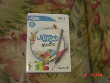 uDraw Studio  (Wii, 2011) Rated E for Everyone, NO Tablet,