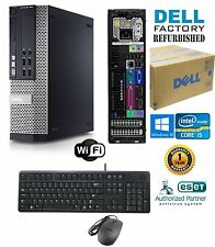 FAST Dell Optiplex SFF PC DESKTOP i5 2400 Quad 3.1GHz 8GB 1TB Windows 10 Pro 64