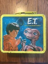 1982 E.T. Extra Terrestrial Metal Lunch Box
