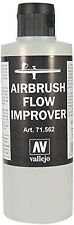 Vallejo 200 Ml Flow Improver Airbrush Model Air Bottle