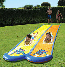 *NEW* WAHU BMA644 DOUBLE LANE Sliding Surface SUPER MEGA Water Slide 7.5m Long