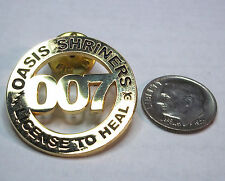 Oasis Shriners Charlotte NC 007 License to Heal Pin
