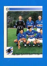 CALCIATORI PANINI 1997-98 Figurina-Sticker n. 317 - SAMPDORIA SQUADRA SX -New